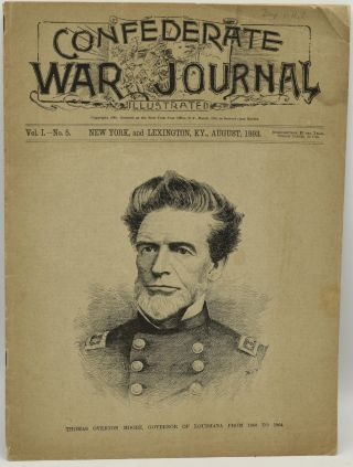 CONFEDERATE WAR JOURNAL, ILLUSTRATED. VOL. I. NO. 5. AUGUST, 1893