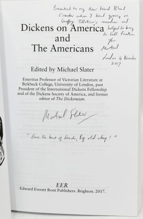 DICKENS ON AMERICA AND THE AMERICANS.
