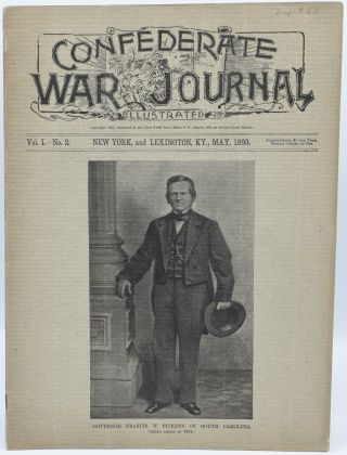 CONFEDERATE WAR JOURNAL, ILLUSTRATED. VOL. I. NO. 2. NEW YORK AND LEXINGTON, KY. MAY 1893