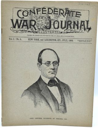 CONFEDERATE WAR JOURNAL, ILLUSTRATED. VOL. I. NO. 4. NEW YORK AND LEXINGTON, KY. JULY 1893