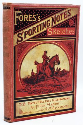 FIRST TWENTY FOUR VOLUMES OF A SPORTING MAGAZINE] FORES'S SPORTING NOTES & SKETCHES. A...