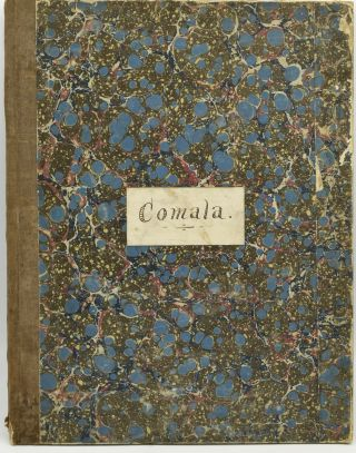 COMALA, A DRAMATIC POEM, AFTER OSSIAN. SET TO MUSIC FOR SOLI, CHORUS, AND ORCHESTRA. OP. 12....