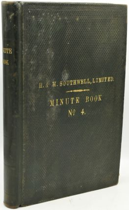 EXECUTIVE BOARD MEETING MINUTES] H. M. SOUTHWELL LTD. 1933-1936
