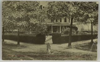 POSTCARD] MRS. A. MITCHELL'S RESIDENCE, CORNER OF MITCHELL ST. & PAYTON AVE., KINGSTON, N. C