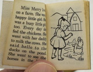 MISS MERRY STORYBOOK. MISS MERRY AND HER DOG, STAR.