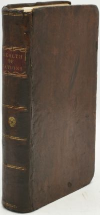 AN INQUIRY INTO THE NATURE AND CAUSES OF THE WEALTH OF NATIONS. Volume 2 Only of 3. LL D. Adam...