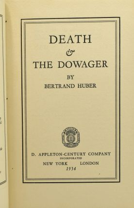 DEATH & THE DOWAGER.
