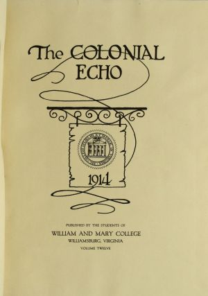 THE COLONIAL ECHO. 1914.