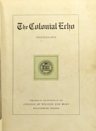 THE COLONIAL ECHO. 1905