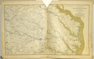 PART 4] ATLAS TO ACCOMPANY THE OFFICIAL RECORDS OF THE UNION AND CONFEDERATE ARMIES. PLATE XVI:...