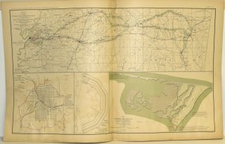 [PART 11] ATLAS TO ACCOMPANY THE OFFICIAL RECORDS OF THE UNION AND CONFEDERATE ARMIES. PLATE LI VICKSBURG ETC. PLATE LII RED RIVER VALLEY ETC. PLATE LIII ARKANSAS AND LOUISIANA ETC. PLATE LIV TEXAS ETC. PLATE LV BATTLEFIELD OF THE WILDERNESS ETC.