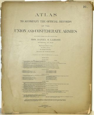PART 16] ATLAS TO ACCOMPANY THE OFFICIAL RECORDS OF THE UNION AND CONFEDERATE ARMIES. PLATE LXXVI...