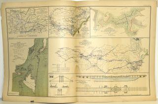 [PART 16] ATLAS TO ACCOMPANY THE OFFICIAL RECORDS OF THE UNION AND CONFEDERATE ARMIES. PLATE LXXVI MISSISSIPPI ETC. PLATE LXXVII RICHMOND ETC. PLATE LXXVIII PETERSBURG ETC. PLATE LXXIX PETERSBURG ETC. PLATE LXXX CAMPAIGN MAPS ETC.