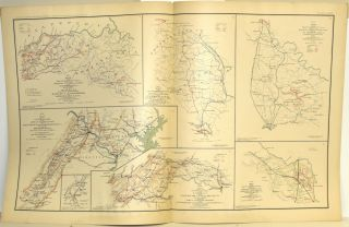 [PART 17] ATLAS TO ACCOMPANY THE OFFICIAL RECORDS OF THE UNION AND CONFEDERATE ARMIES. PLATE LXXXI ARMY OF NORTHERN VIRGINIA ETC. PLATE LXXXII HARPER'S FERRY, ETC. PLATE LXXXIII BATTLE OF THE WILDERNESS, ETC. PLATE LXXXIV MILFORD, VA. ETC. PLATE LXXXV ARMY OF THE VALLEY, ETC.