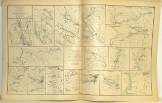 [PART 18] ATLAS TO ACCOMPANY THE OFFICIAL RECORDS OF THE UNION AND CONFEDERATE ARMIES. PLATE LXXXVI CAMPAIGN FROM SAVANNAH TO GOLDSBOROUGH ETC. PLATE LXXXVII MINE RUN ETC. PLATE LXXXVIII SIEGE OF ATLANTA ETC. PLATE LXXXIX DEFENSES OF WASHINGTON ETC. PLATE XC APPROACHES TO NEW ORLEANS ETC.