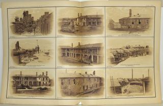 [PART 25] ATLAS TO ACCOMPANY THE OFFICIAL RECORDS OF THE UNION AND CONFEDERATE ARMIES. PLATE CXXI VIEW OF TERRE-PLEIN ETC. PLATE CXXII FORT SUMTER ETC. PLATE CXXIII CHATTANOOGA ETC. PLATE CXXIV NASHVILLE ETC. PLATE CXXV BATTERY SAWYER ETC.