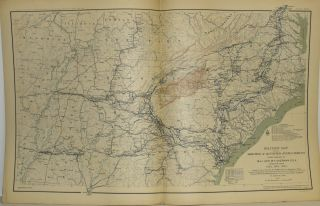 [PART 24] ATLAS TO ACCOMPANY THE OFFICIAL RECORDS OF THE UNION AND CONFEDERATE ARMIES. PLATE CXVI SKETCH OF THE BATTLE OF MCDOWELL, VA. ETC. PLATE CXVII SHERMAN'S MARCH ETC. PLATE CXVIII ARMY OF THE CUMBERLAND ETC. PLATE CXIX ARKANSAS AND TEXAS ETC. PLATE CVV UTAH ETC.