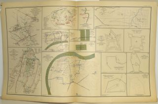 [PART 23] ATLAS TO ACCOMPANY THE OFFICIAL RECORDS OF THE UNION AND CONFEDERATE ARMIES. PLATE CXI ARMY OF NORTHERN VIRGINIA ETC. PLATE CXII BRIDGEPORT ETC. PLATE CXIII DEFENSES OF CHATTANOOGA. PLATE CXIV DEFENSES OF NASHVILLE ETC. PLATE CXV JOHNSONVILLE ETC.