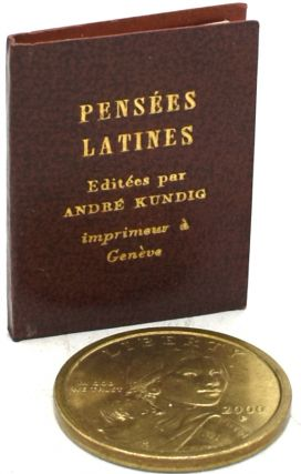 PENSEES LATINES