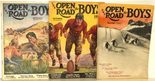 THE OPEN ROAD FOR BOYS [3 ISSUES FROM 1937