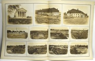 [PART 25] ATLAS TO ACCOMPANY THE OFFICIAL RECORDS OF THE UNION AND CONFEDERATE ARMIES. PLATE CXXVI CAPITOL, RICHMOND, VA. ETC. PLATE CXXVII FEDERAL FORT NO. 11, ATLANTA, GA. ETC. PLATE CXXVIII REBEL LINES, ATLANTA, GA. ETC. PLATE CXXIX REBEL LINES, ATLANTA, GA. ETC. PLATE CXXX PANORAMIC VIEW OF KNOXVILLE, TENN. ETC.