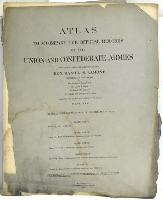 PART 30] ATLAS TO ACCOMPANY THE OFFICIAL RECORDS OF THE UNION AND CONFEDERATE ARMIES. PLATE CXLVI...