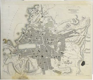 MAP OF MARSEILLE, FROM MAPS MODERN & ANCIENT