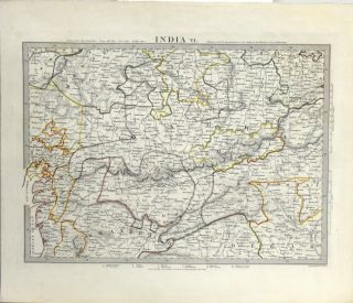 MAP OF INDIA, PART VI. FROM MAPS MODERN AND ANCIENT