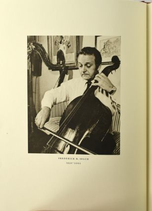 THE LEGACY OF SEBASTIAN VIRDUNG. AN ILLUSTRATED CATALOGUE OF RARE BOOKS FROM THE FREDERICK R. SELCH COLLECTION PERTAINING TO THE HISTORY OF MUSICAL INSTRUMENTS.