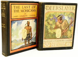 SIX CLASSICS, AWARDED TO CIA HIGHER UP CORD MEYER, JR. THE LIFE AND ADVENTURES OF ROBINSON CRUSOE.   HYPATIA OR NEW FOES WITH AN OLD FACE.   THE OXFORD BOOK OF VICTORIAN VERSE.   THE LAST OF THE MOHICANS, A NARRATIVE OF 1757.   THE DEERSLAYER OR THE FIRST WAR-PATH.   VANITY FAIR.