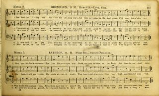 [ROCKINGHAM COUNTY] HARMONIA SACRA, BEING A COMPILATION OF GENUINE CHURCH MUSIC. COMPRISING A GREAT VARIETY OF METRES, ALL HARMONIZED FOR THREE VOICES. TOGETHER WITH A COPIOUS EXPLICATION OF THE PRINCIPLES OF VOCAL MUSIC. EXEMPLIFIED AND ILLUSTRATED WITH TABLES IN A PLAIN AND COMPREHENSIVE.