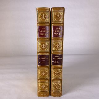 FINE BINDINGS] [EXTRA-ILLUSTRATED] THE ORRERY PAPERS. (2 VOLUMES). The Countess of Cork and Orrery