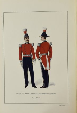 DRESS WORN AT HIS MAJESTY'S COURT. ISSUED WITH THE AUTHORITY OF THE LORD CHAMBERLAIN. ILLUSTRATRED BY COLOURED PLATES SPECIALLY PREPARED. IN TWO PARTS.