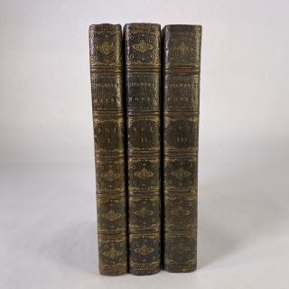 THE WORKS OF MR WILLIAM CONGREVE IN THREE VOLUMES, CONSISTING OF HIS PLAYS AND POEMS. William...