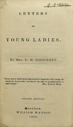 LETTERS TO YOUNG LADIES.